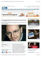 Tribune de Genève p1