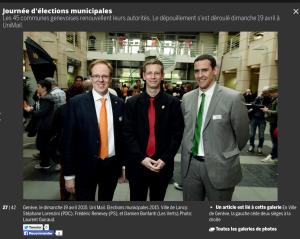 Dialogue & Cohérence, une alliance entre le PS-les Verts et le PDC