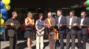 Inauguration de l'école Le Sapay