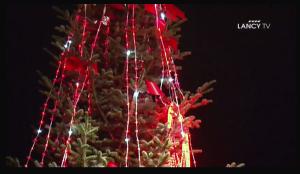 Arbre de Noël à Lancy